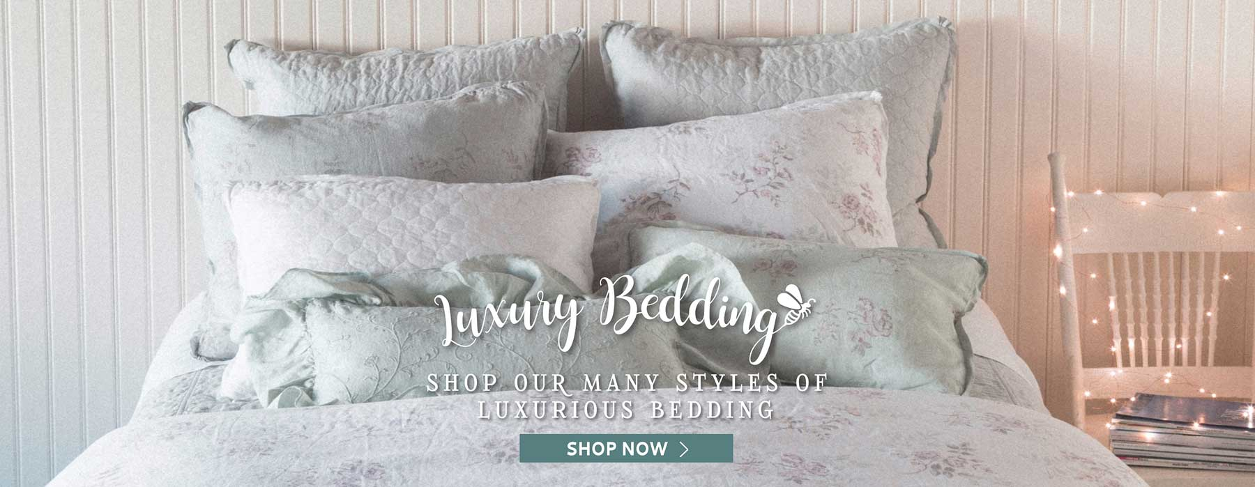 Luxury Bedding - Shop Our Many Styles of Luxurious Bedding