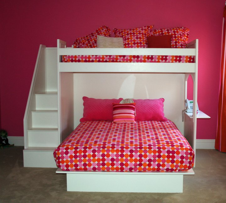 Fantasy Bunk Bed Twin Over Queen By Country Cottage
