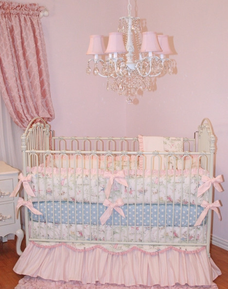 Fairy Tale Princess Crib Baby Bedding By Little Bunny Blue