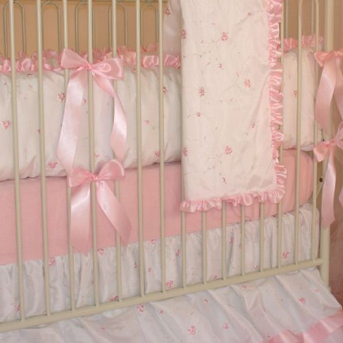 Miss Princess Crib Baby Bedding Round By Little Bunny Blue
