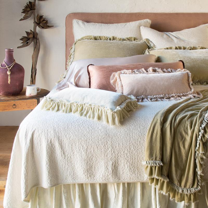 Bella Notte Loulah Pillow Shams By Bella Notte Linens
