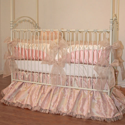 Ava Crib Baby Bedding By Little Bunny Blue