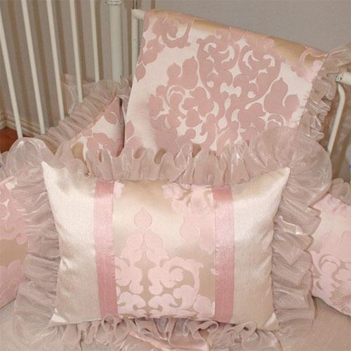 Ava Crib Baby Bedding By Little Bunny Blue