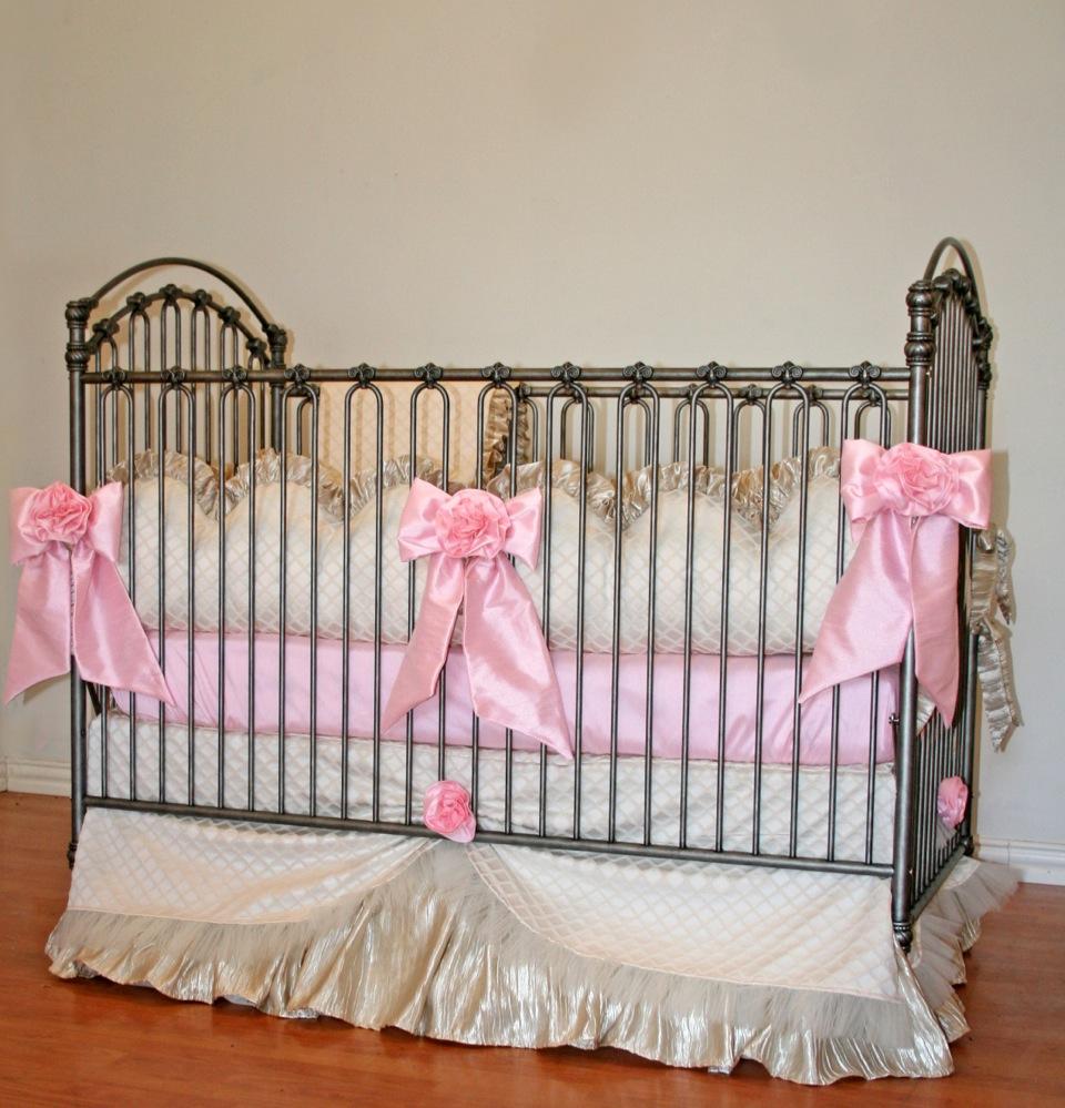 Bella Ii Crib Baby Bedding By Little Bunny Blue