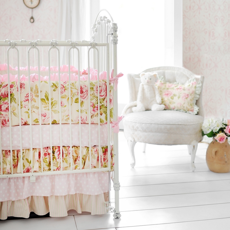 In Full Bloom Crib Baby Bedding By New Arrivals