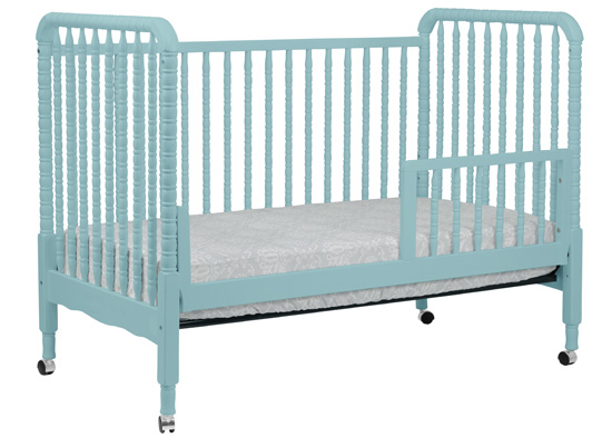 Jenny Lind Convertible Crib In Lagoon By Davinci Baby