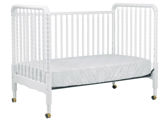 Jenny Lind Convertible Crib In White By Davinci Baby