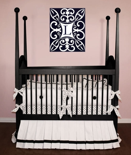 Lizzie Crib Baby Bedding By Little Bunny Blue