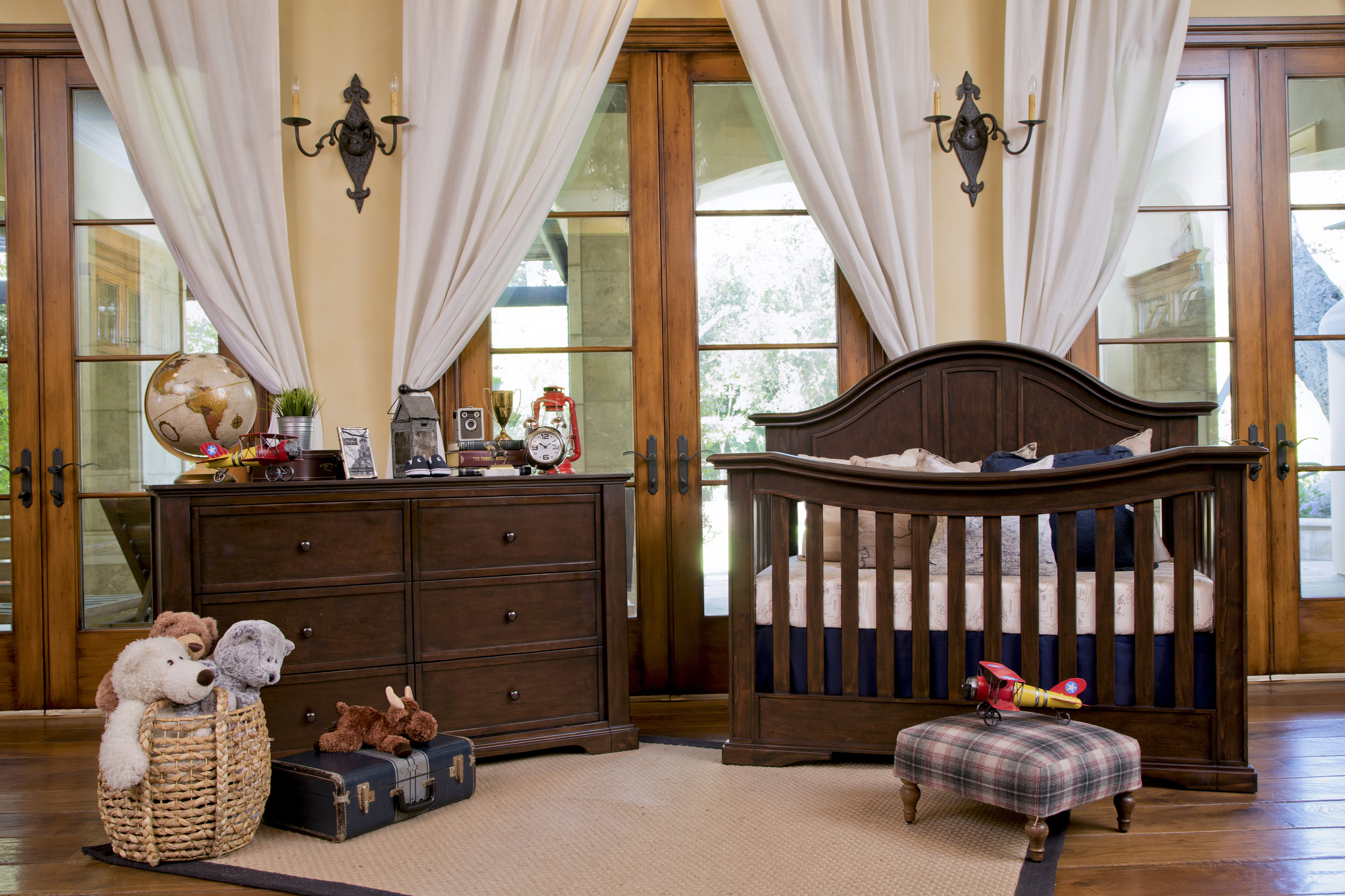 Superieur Tilsdale 4 In 1 Convertible Crib In Rich Walnut By Million Dollar Baby  Classic
