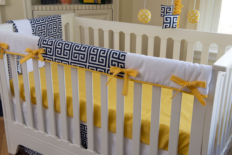 Sam Crib Baby Bedding In Vibrant Orange By Bebe Chic