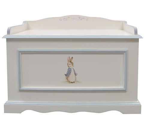 Vintage Toy Chest in Enchanted Forest by AFK Art For Kids