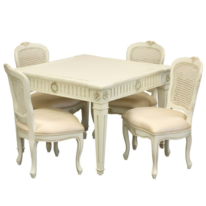 Juliette Table and Chairs in Versailles by AFK Art For Kids