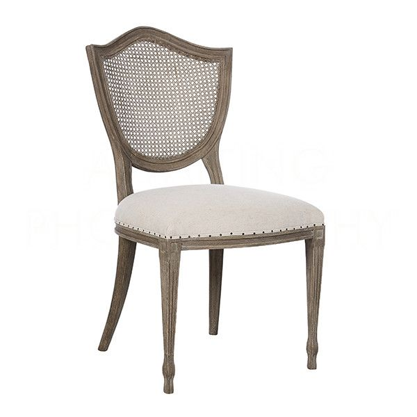 Shield Cane Back Dining Chair by Aidan Gray