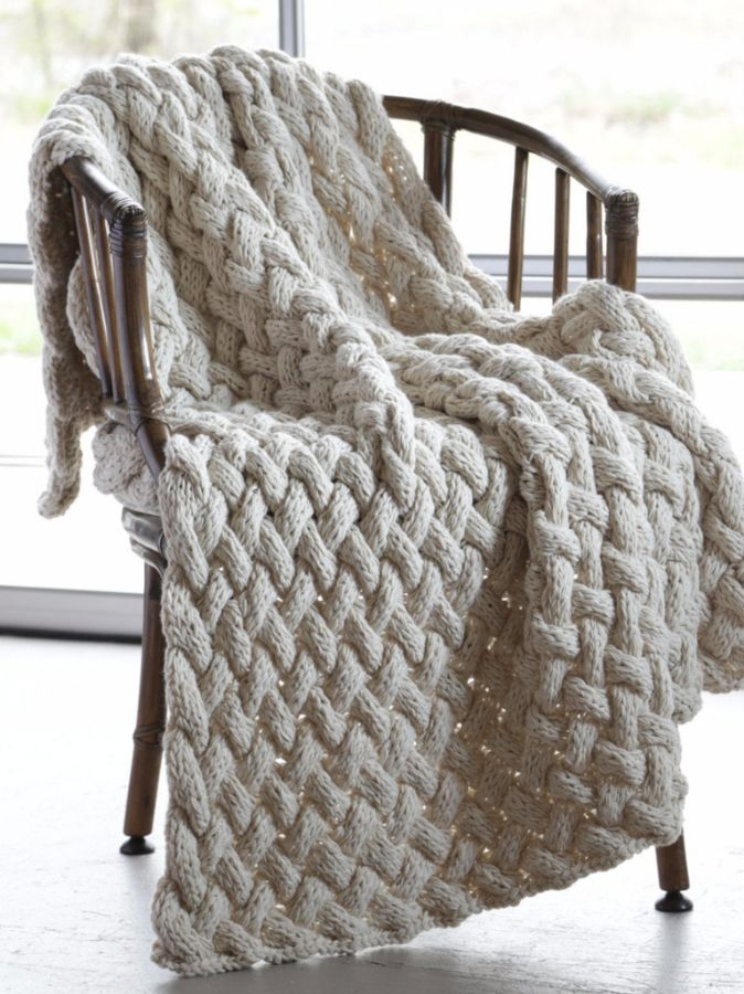 Basket Weave Blanket by ASI