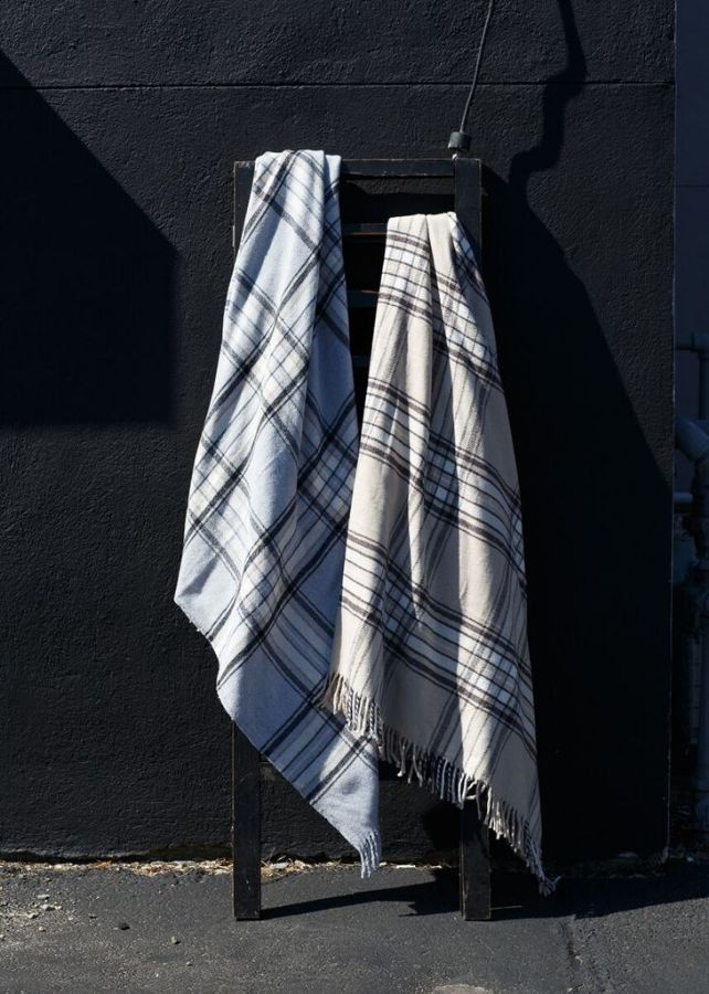 Classic Plaid Throw by ASI