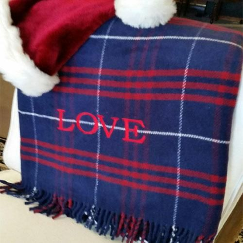 Plaid Throw by ASI