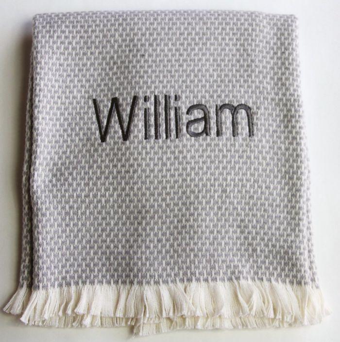 Grain of Rice Baby Blanket by ASI