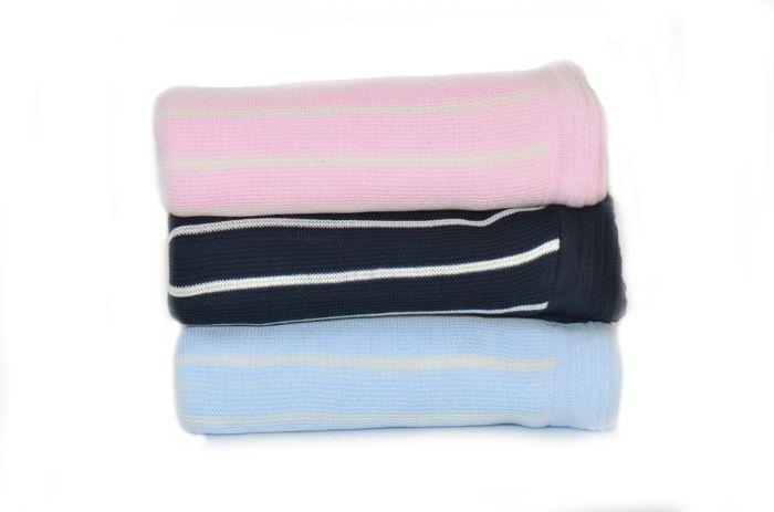 Cotton Seedstitch Blanket by ASI