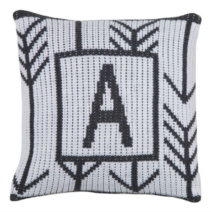 Arrows and Arrows Pillow by Butterscotch Blankees