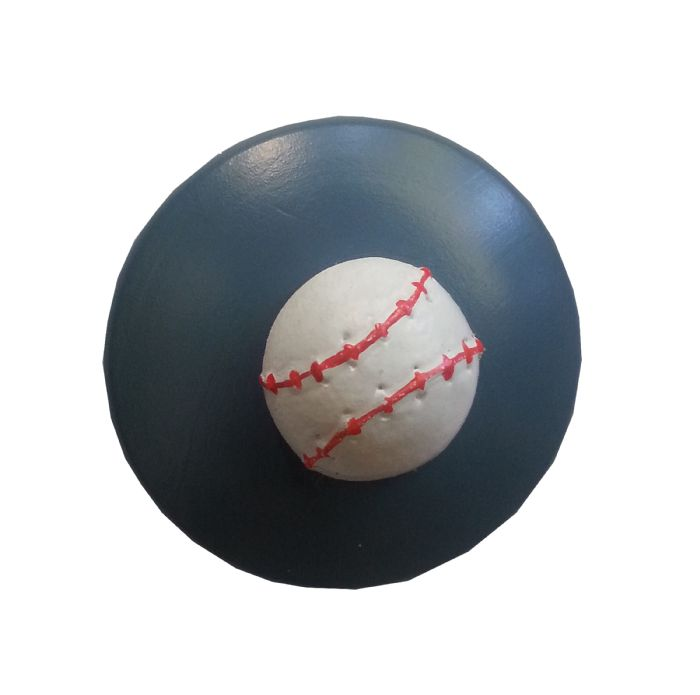 Baseball Drawer Knob by Beautifully Chic