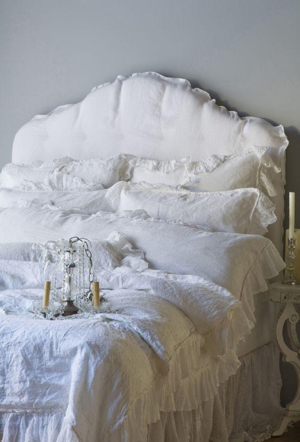 Linen Whisper in White Children's-Adult Bedding by Bella Notte Linens