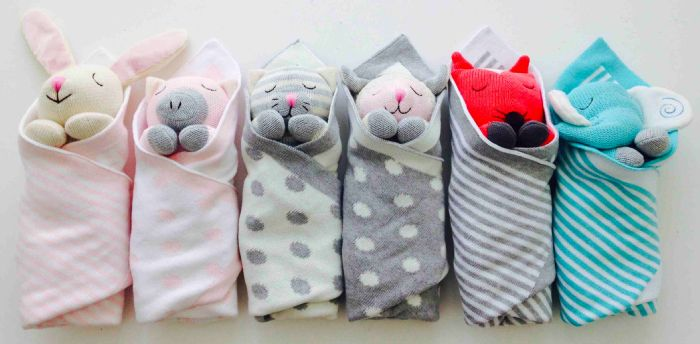 Baby & Toddler Bedding Collection - Burrito Babies by The Little Acorn