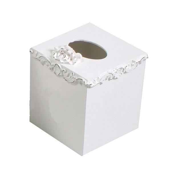 Bella Keyhole Tissue Box by Charn & Company