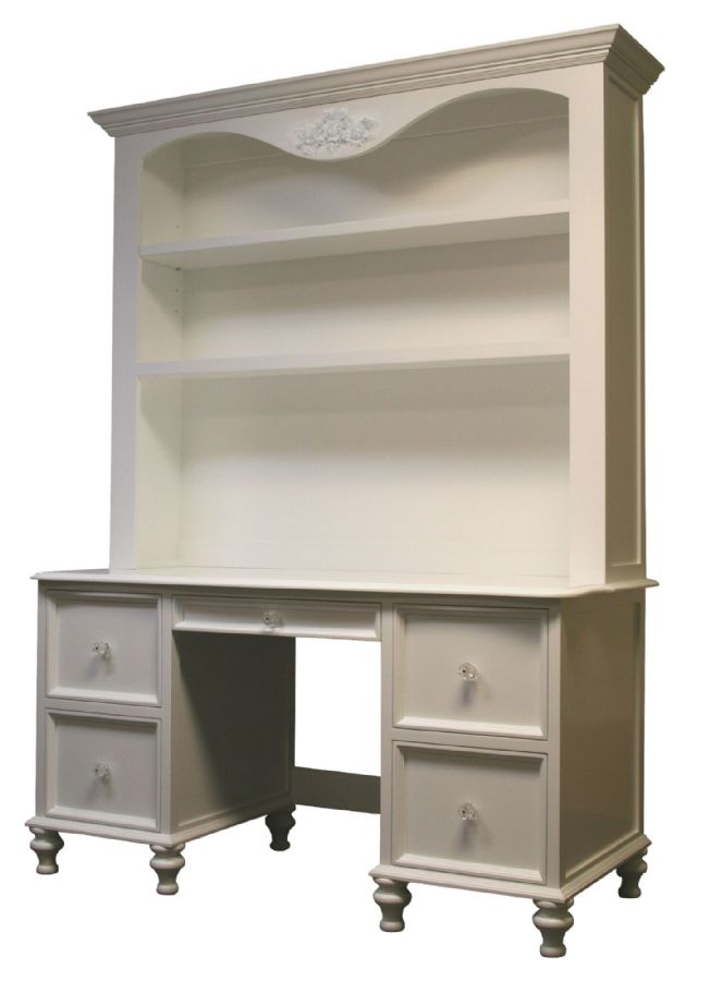 Belle Desk & Hutch by Country Cottage