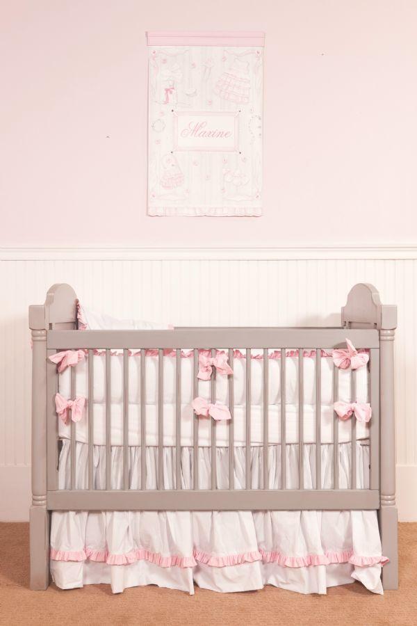 Charlotte Crib Baby Bedding by Lulla Smith