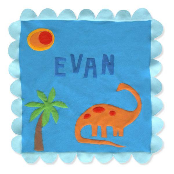Dino Blanket by Little Moonjumper