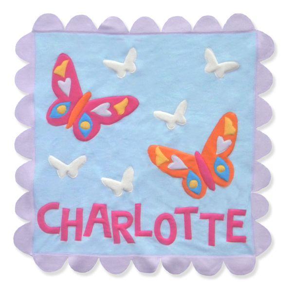 Flutterby Blanket by Little Moonjumper
