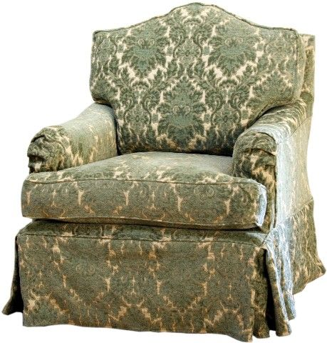 Bella Swivel Glider by Cottage Slipcovered