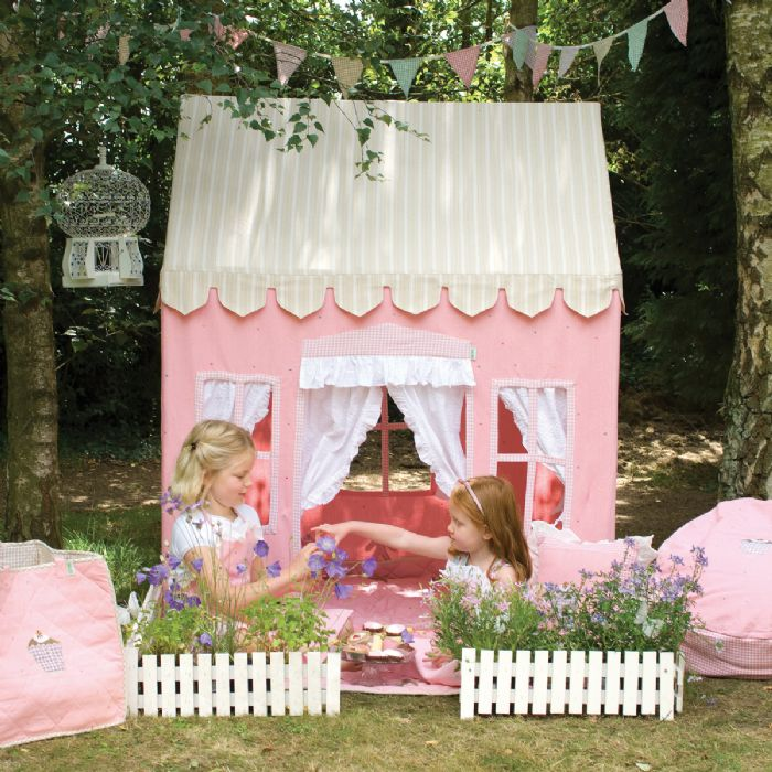 Gingerbread Cottage Playhouse by Win Green