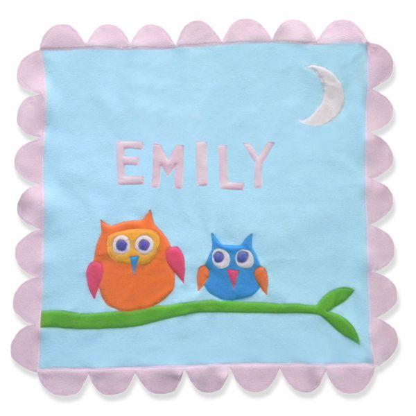 Hoot Hoot Owl Blanket by Little Moonjumper