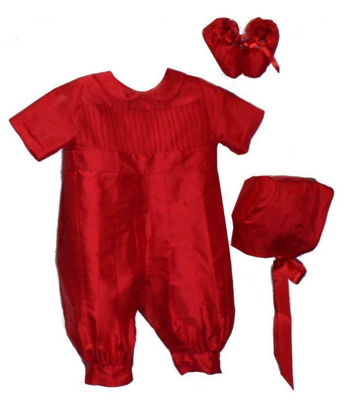 Tucks Holiday Romper by Isabel Garreton