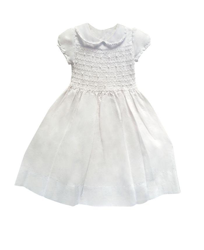Heirloom Handsmocked Dress by Isabel Garreton