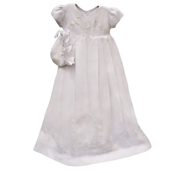 Cameo Christening Gown by Isabel Garreton