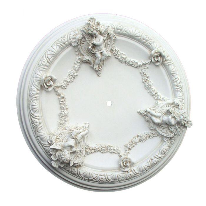 Cherub Ceiling Medallion by I Lite 4 U