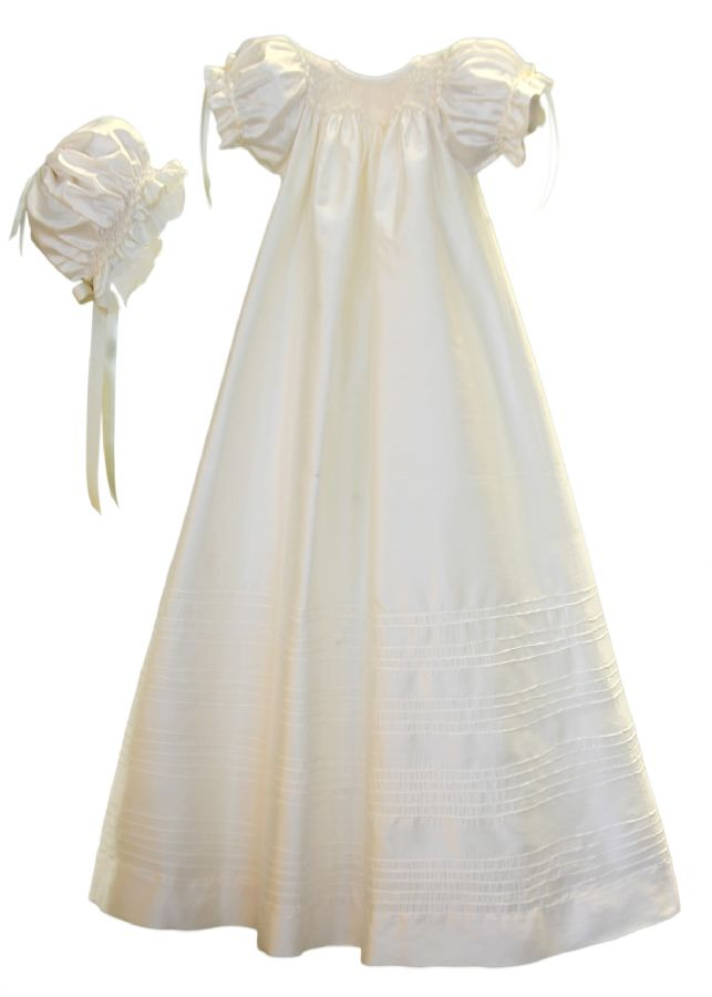 Garland Christening Gown by Isabel Garreton