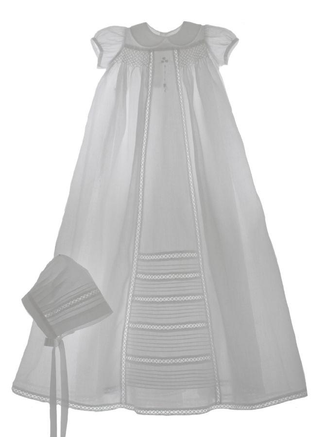 Romance Christening Gown by Isabel Garreton