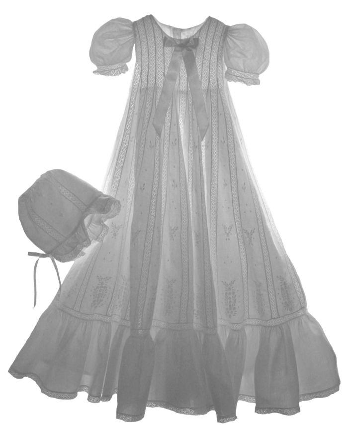 Cascade Christening Gown by Isabel Garreton