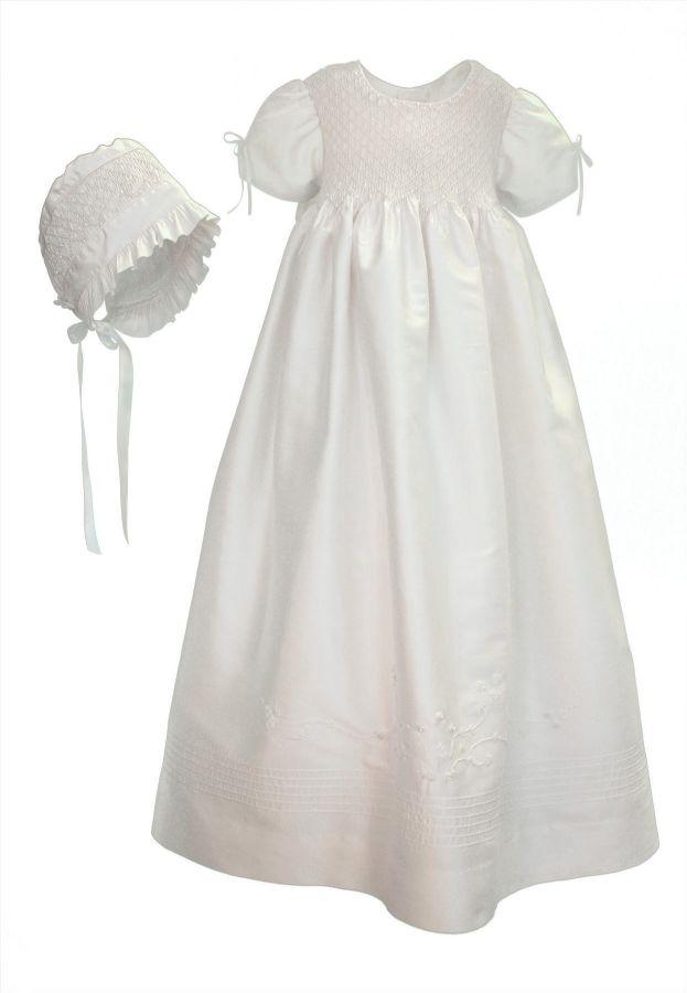 Pearls Christening Gown by Isabel Garreton