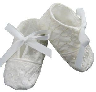 Christening Booties by Katie & Co/Gordon & Co