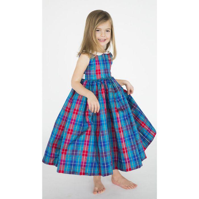 Harper Dress in Silk by Lulla Smith