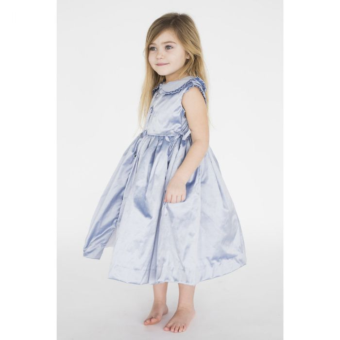 Olivia Dress in Silk by Lulla Smith