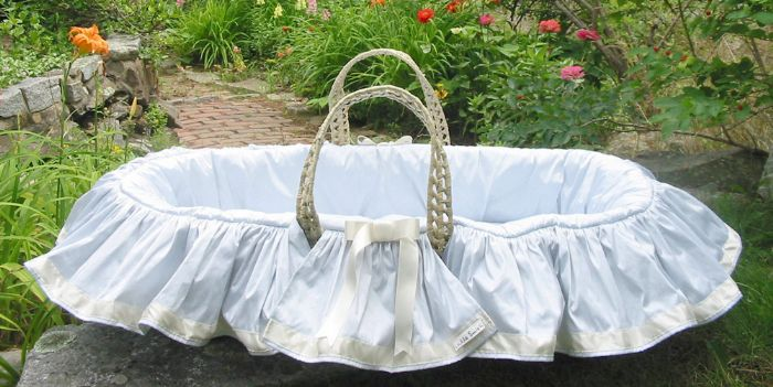 Iris Moses Basket by Lulla Smith