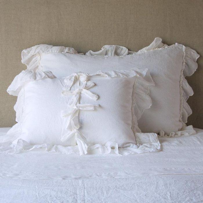 Bella Notte Linens Linen Whisper Pillow Shams by Bella Notte Linens