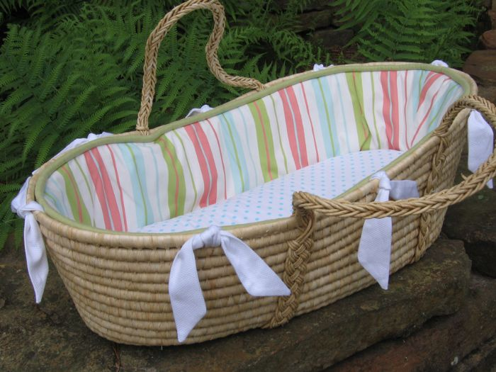 Chandler Moses Basket by Maddie Boo