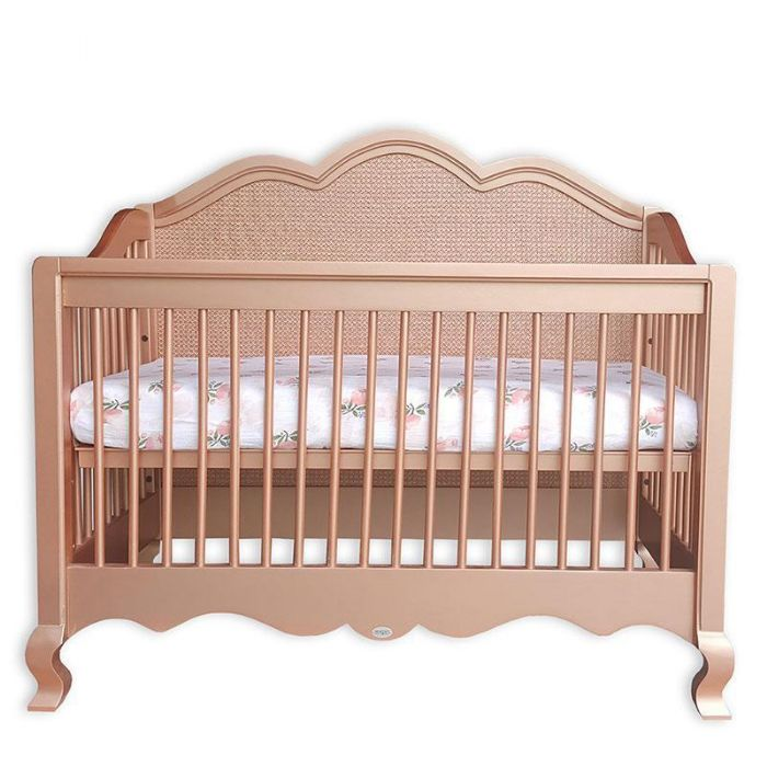 Hilary Conversion Crib with Caning by Newport Cottages