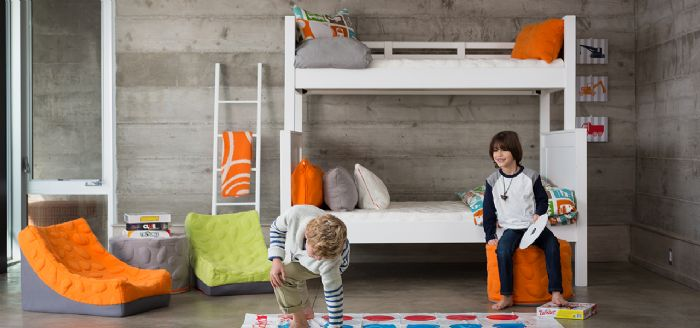 Ricki Modern Tween Room Inspiration by Newport Cottages